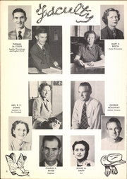 Page 12, 1951 Edition, Ardmore High School - Spectrum Yearbook (Ardmore, OK) online yearbook collection