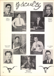 Page 14, 1951 Edition, Ardmore High School - Spectrum Yearbook (Ardmore, OK) online yearbook collection