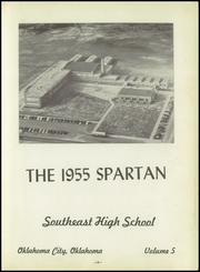 Page 7, 1955 Edition, Southeast High School - Spartan Yearbook (Oklahoma City, OK) online yearbook collection