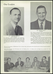 Page 10, 1956 Edition, Southeast High School - Spartan Yearbook (Oklahoma City, OK) online yearbook collection