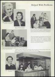 Page 12, 1956 Edition, Southeast High School - Spartan Yearbook (Oklahoma City, OK) online yearbook collection