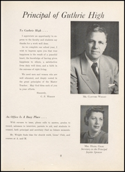 Page 11, 1953 Edition, Guthrie High School - Kynewisbok Yearbook (Guthrie, OK) online yearbook collection