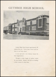 Page 7, 1954 Edition, Guthrie High School - Kynewisbok Yearbook (Guthrie, OK) online yearbook collection