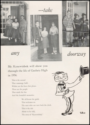 Page 8, 1956 Edition, Guthrie High School - Kynewisbok Yearbook (Guthrie, OK) online yearbook collection