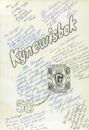 Page 5, 1958 Edition, Guthrie High School - Kynewisbok Yearbook (Guthrie, OK) online yearbook collection
