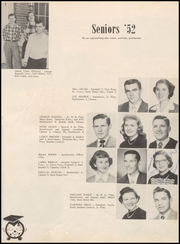 Page 15, 1952 Edition, Miami High School - Miamian Yearbook (Miami, OK) online yearbook collection