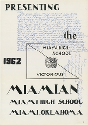 Page 5, 1962 Edition, Miami High School - Miamian Yearbook (Miami, OK) online yearbook collection