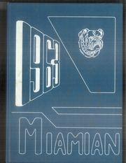 Miami High School - Miamian Yearbook (Miami, OK) online yearbook collection, 1963 Edition, Page 1