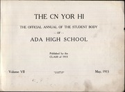 Page 5, 1915 Edition, Ada High School - Cougar Yearbook (Ada, OK) online yearbook collection