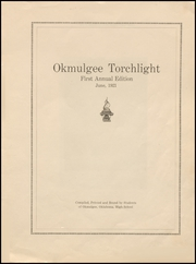 Page 5, 1921 Edition, Okmulgee High School - Torchlight Yearbook (Okmulgee, OK) online yearbook collection