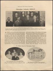 Page 8, 1921 Edition, Okmulgee High School - Torchlight Yearbook (Okmulgee, OK) online yearbook collection