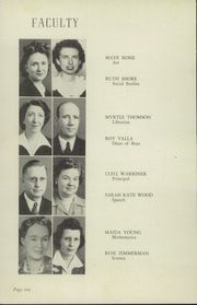 Page 12, 1944 Edition, Okmulgee High School - Torchlight Yearbook (Okmulgee, OK) online yearbook collection