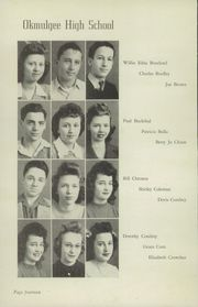 Page 16, 1944 Edition, Okmulgee High School - Torchlight Yearbook (Okmulgee, OK) online yearbook collection
