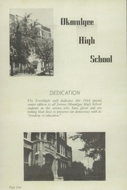 Page 6, 1944 Edition, Okmulgee High School - Torchlight Yearbook (Okmulgee, OK) online yearbook collection