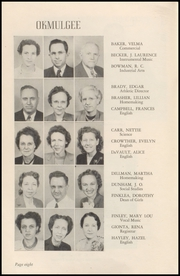 Page 10, 1947 Edition, Okmulgee High School - Torchlight Yearbook (Okmulgee, OK) online yearbook collection