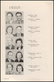 Page 12, 1947 Edition, Okmulgee High School - Torchlight Yearbook (Okmulgee, OK) online yearbook collection