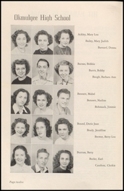 Page 14, 1947 Edition, Okmulgee High School - Torchlight Yearbook (Okmulgee, OK) online yearbook collection