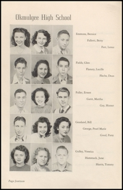 Page 16, 1947 Edition, Okmulgee High School - Torchlight Yearbook (Okmulgee, OK) online yearbook collection