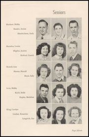 Page 17, 1947 Edition, Okmulgee High School - Torchlight Yearbook (Okmulgee, OK) online yearbook collection