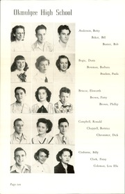 Page 14, 1948 Edition, Okmulgee High School - Torchlight Yearbook (Okmulgee, OK) online yearbook collection