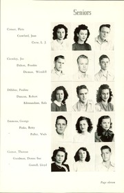 Page 15, 1948 Edition, Okmulgee High School - Torchlight Yearbook (Okmulgee, OK) online yearbook collection