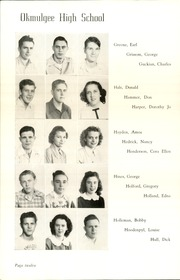 Page 16, 1948 Edition, Okmulgee High School - Torchlight Yearbook (Okmulgee, OK) online yearbook collection
