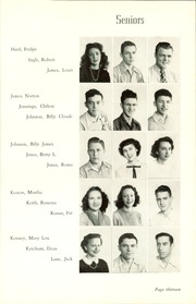 Page 17, 1948 Edition, Okmulgee High School - Torchlight Yearbook (Okmulgee, OK) online yearbook collection