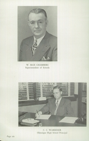 Page 10, 1949 Edition, Okmulgee High School - Torchlight Yearbook (Okmulgee, OK) online yearbook collection