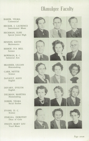 Page 11, 1949 Edition, Okmulgee High School - Torchlight Yearbook (Okmulgee, OK) online yearbook collection
