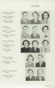 Page 13, 1949 Edition, Okmulgee High School - Torchlight Yearbook (Okmulgee, OK) online yearbook collection