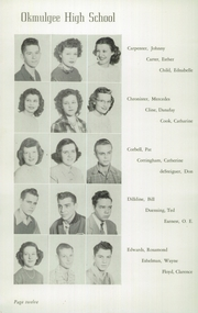 Page 16, 1949 Edition, Okmulgee High School - Torchlight Yearbook (Okmulgee, OK) online yearbook collection
