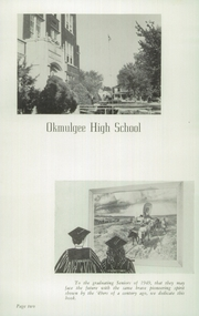 Page 6, 1949 Edition, Okmulgee High School - Torchlight Yearbook (Okmulgee, OK) online yearbook collection