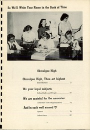 Page 13, 1952 Edition, Okmulgee High School - Torchlight Yearbook (Okmulgee, OK) online yearbook collection
