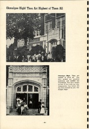 Page 8, 1952 Edition, Okmulgee High School - Torchlight Yearbook (Okmulgee, OK) online yearbook collection