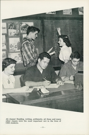 Page 15, 1954 Edition, Okmulgee High School - Torchlight Yearbook (Okmulgee, OK) online yearbook collection