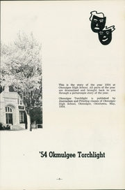 Page 7, 1954 Edition, Okmulgee High School - Torchlight Yearbook (Okmulgee, OK) online yearbook collection