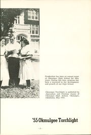 Page 7, 1955 Edition, Okmulgee High School - Torchlight Yearbook (Okmulgee, OK) online yearbook collection