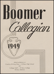 Page 5, 1949 Edition, El Reno High School - Boomer Yearbook (El Reno, OK) online yearbook collection