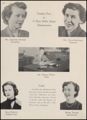 Page 12, 1953 Edition, El Reno High School - Boomer Yearbook (El Reno, OK) online yearbook collection