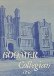 El Reno High School - Boomer Yearbook (El Reno, OK) online yearbook collection, 1956 Edition, Page 1