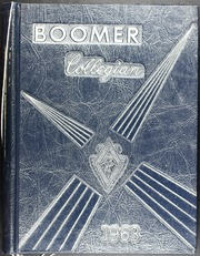 El Reno High School - Boomer Yearbook (El Reno, OK) online yearbook collection, 1963 Edition, Page 1