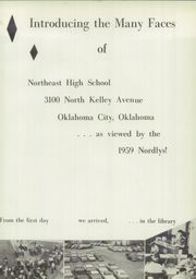 Page 5, 1959 Edition, Northeast High School - Nordlys Yearbook (Oklahoma City, OK) online yearbook collection