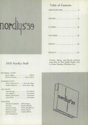 Page 9, 1959 Edition, Northeast High School - Nordlys Yearbook (Oklahoma City, OK) online yearbook collection