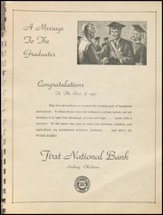 Page 17, 1940 Edition, Cushing High School - Oiler Yearbook (Cushing, OK) online yearbook collection