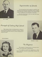 Page 15, 1941 Edition, Cushing High School - Oiler Yearbook (Cushing, OK) online yearbook collection