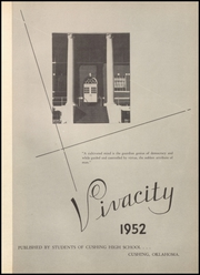 Page 5, 1952 Edition, Cushing High School - Oiler Yearbook (Cushing, OK) online yearbook collection
