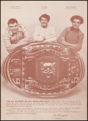 Page 12, 1954 Edition, Cushing High School - Oiler Yearbook (Cushing, OK) online yearbook collection