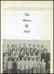 Page 17, 1958 Edition, Catoosa High School - Warrior Yearbook (Catoosa, OK) online yearbook collection