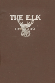 Page 1, 1920 Edition, Elk City High School - Elk Yearbook (Elk City, OK) online yearbook collection