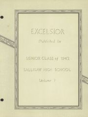 Page 7, 1942 Edition, Sallisaw High School - Black Diamond Yearbook (Sallisaw, OK) online yearbook collection
